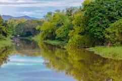 Cor do rio Imagem de Stock Royalty Free