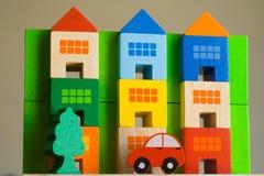 Cor dos bens imobiliários fotografia de stock royalty free