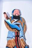 A cor dos caráteres da escultura de argila Foto de Stock