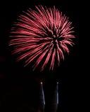 Cor dos fogos-de-artifício Imagem de Stock