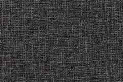 a cor escura do cinza de carvão vegetal textured a tela no macro Imagens de Stock Royalty Free