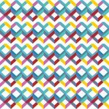 Cor geométrica colorida brilhante do arco-íris do fundo do teste padrão sem emenda abstrato Ilustração do vetor ilustração stock