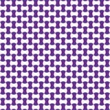 Cor geométrica sem emenda do lilás do teste padrão Fotos de Stock Royalty Free