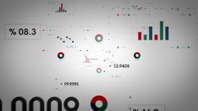 Cor Lite dos gráficos e dos dados ilustração do vetor
