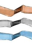 Cor metafórico e isolat preto e branco da película Imagens de Stock