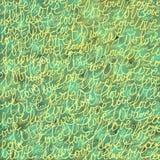 Cor obscura do fundo com palavras do amor ilustração royalty free