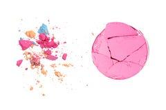 A cor pastel compõe migalhas do fundo da cor ilustração royalty free