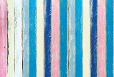 Cor Pastel da madeira da pintura Foto de Stock