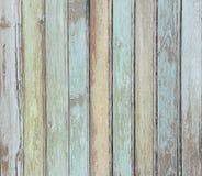 Cor pastel de madeira do fundo das pranchas colorida fotos de stock royalty free