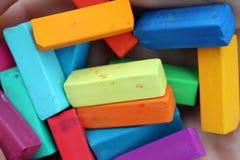 Cor pastel macia para artistas Fotos de Stock