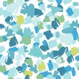 A cor pastel na moda rabisca o teste padrão Textura abstrata da tela ilustração do vetor