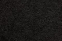 Cor preta papel de arte textured no macro Imagens de Stock Royalty Free