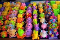 Cor retro tailandesa Ásia do brinquedo para a criança, Tailândia Fotos de Stock