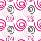 Cor sem emenda abstrata do rosa do teste padrão Imagens de Stock Royalty Free