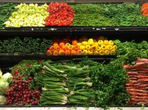 Cor vegetal Imagens de Stock Royalty Free