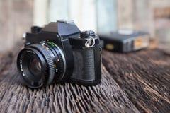 Cor velha do sepia da câmera Imagem de Stock