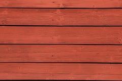 Cor vermelha de Falun do sueco típico, muito popular na Suécia Fotos de Stock Royalty Free