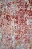 Cor vermelha e branca, detalhe de uma fachada da casa Imagens de Stock Royalty Free