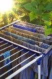 A cor veste a secagem pelo sol Imagem de Stock Royalty Free