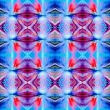 Cor violeta e azul vermelha Fotografia de Stock Royalty Free