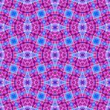 Cor violeta e azul vermelha Fotos de Stock