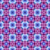 Cor violeta e azul vermelha Imagem de Stock Royalty Free