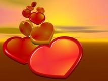 Coração Imagens de Stock Royalty Free