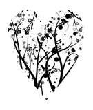 Coração ilustração do vetor