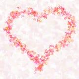 Coração ilustração stock