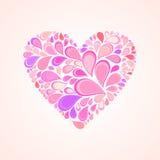 Coração abstrato Foto de Stock Royalty Free