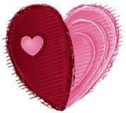Coração ao coração Fotos de Stock Royalty Free