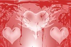 Coração Artes gráficas Desenho colorido cores ilustração stock
