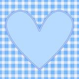 Coração azul Imagens de Stock