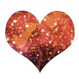 Coração bonito Imagens de Stock Royalty Free