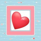 Coração bonito Fotos de Stock
