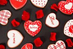 Coração bonito do pão-de-espécie Fotos de Stock Royalty Free