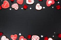 Coração bonito do pão-de-espécie Imagens de Stock Royalty Free