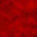 Coração bonito do redl Fotografia de Stock Royalty Free