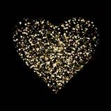 Coração brilhante para o feriado Amor Dia do Valentim s romance Vetor EPS 10 ilustração do vetor