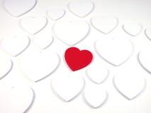 Coração-Centro macio do foco Fotos de Stock
