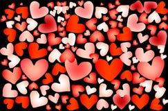 Coração colorido Fotografia de Stock