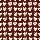 Coração com às bolinhas Imagem de Stock