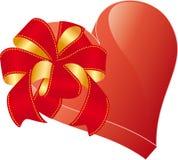 Coração com curva Fotos de Stock