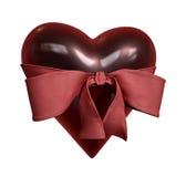Coração com laço Imagem de Stock Royalty Free