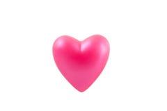 Coração cor-de-rosa 1 Fotografia de Stock Royalty Free