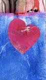 Coração cor-de-rosa ilustração do vetor
