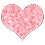 Coração cor-de-rosa ilustração stock