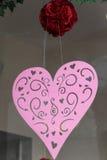 Coração cor-de-rosa Foto de Stock Royalty Free