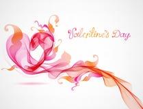 Coração cor-de-rosa abstrato Fotografia de Stock