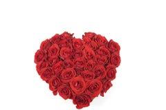 Coração cor-de-rosa do vermelho Imagem de Stock